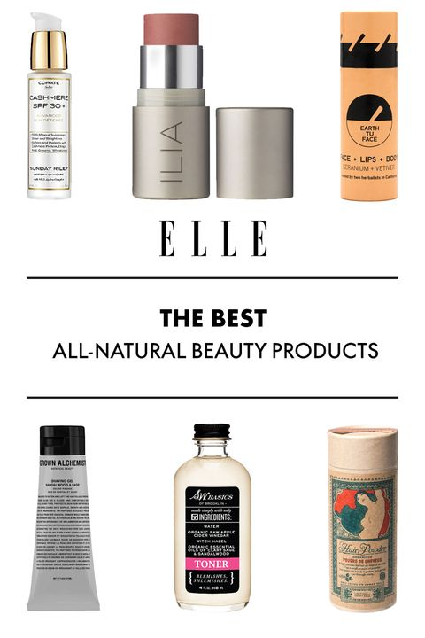All Natural Beauty Products