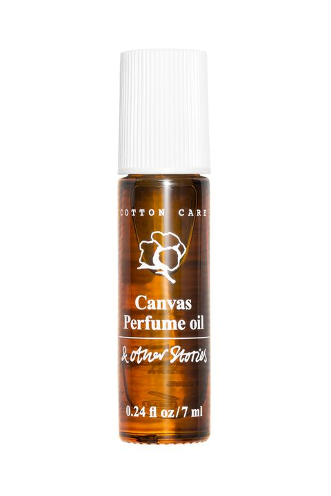 """<p>If you have a few summer getaways planned, this little vial is perfect for tucking into a carry-on or an overnight bag. And, oh yeah, it smells divine. The clean scent conjures up images of freshly washed cotton sheets. </p><p><br></p><p>$29 for .24 fl. oz., <a href=""""http://www.stories.com/us/Beauty/Bath_Body/Fragrance_mists/Canvas_Perfume_Oil/590725-102394790.1"""" target=""""_blank"""">Stories.com</a> </p>"""