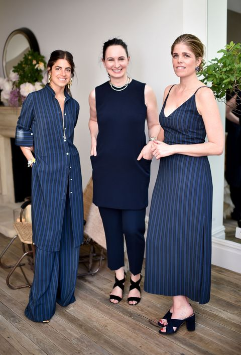"<p>At the Atea Oceanie x Man Repeller event in London<span class=""redactor-invisible-space""> on May 12, 2016</span>.</p>"