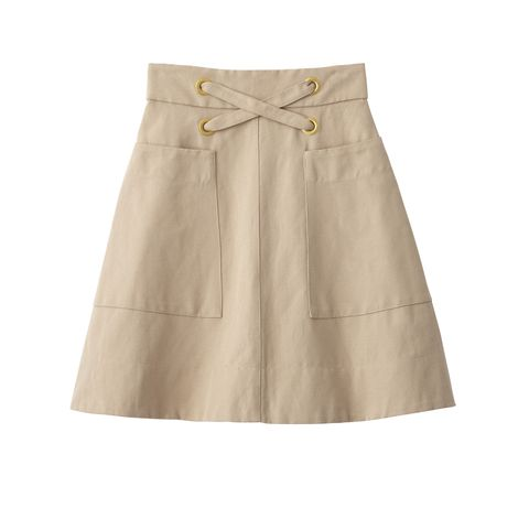 "<p>Cotton skirt, LOVER, $395, visit <a href=""http://www.loverthelabel.com/"">loverthelabel.com</a></p>"
