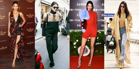 3b7f48019ddf5 Kendall Jenner's style may be versatile on the runways, but off the catwalk  she has her own seriously defined taste. Click through for all her best  looks.