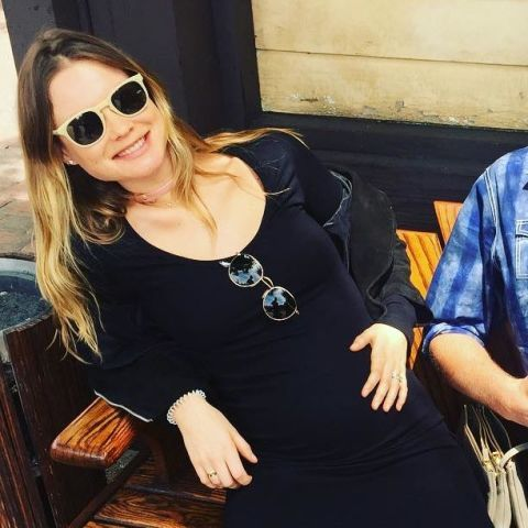 Behati Prinsloo Snapped a Selfie to Show Off Her Growing Baby Bump