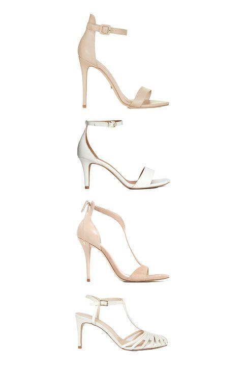 "<p>Topshop Rita Two-Part Skinny Sandals, $80; <a href=""http://us.topshop.com/en/tsus/product/shoes-70484/rita-2part-skinny-sandals-5185357?bi=20&ps=20"" target=""_blank"">topshop.com</a></p><p>H&M Sandals, $25; <a href=""http://www.hm.com/us/product/40447?article=40447-B"" target=""_blank"">hm.com</a><br></p><p>Zara High heel Strappy Sandals, $40; <a href=""http://www.zara.com/us/en/woman/shoes/view-all/high-heel-strappy-sandals-c719531p3491516.html"" target=""_blank"">zara.com</a></p><p><a href=""http://www.balenciaga.com/us/looks-shoes_cod11015727ja.html"" target=""_blank""></a></p><p>ASOS Starlet Bridal Caged Heels, $57; <a href=""http://us.asos.com/ASOS-STARLET-Bridal-Caged-Heels/1a4dnf/?iid=6518853&cid=4172&Rf989=5025,5032,5029,5020&sh=0&pge=1&pgesize=204&sort=-1&clr=Ivory&totalstyles=1529&gridsize=3&mporgp=L0FTT1MvQVNPUy1TVEFSTEVULUJyaWRhbC1DYWdlZC1IZWVscy9Qcm9kLw.."" target=""_blank"">asos.com</a></p>"
