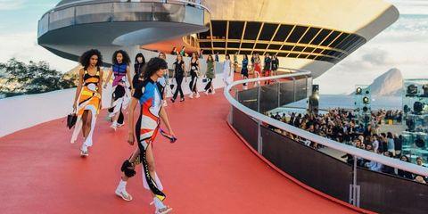 3c63878786390 Louis Vuitton Cruise Show in Rio de Janeiro - Louis Vuitton Cruise ...