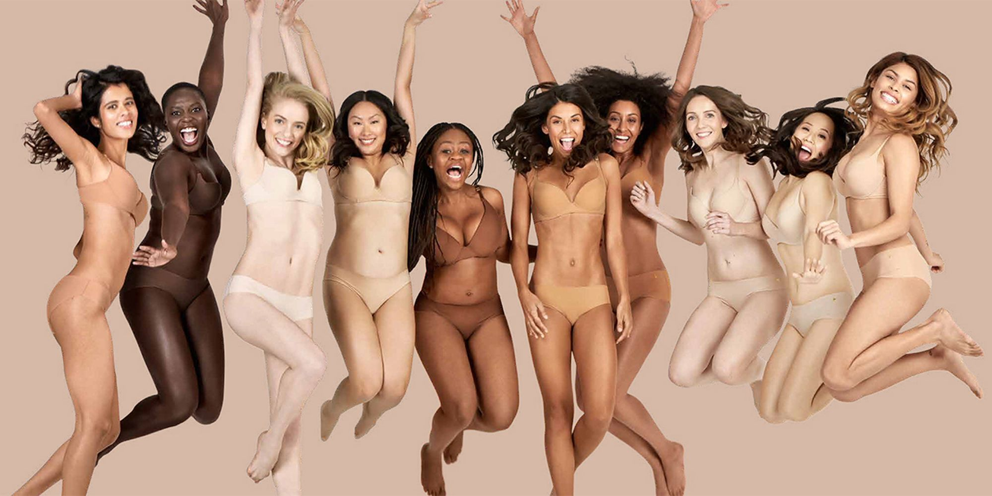 """All Nude Image finally, a lingerie collection for all shades of """"nude"""