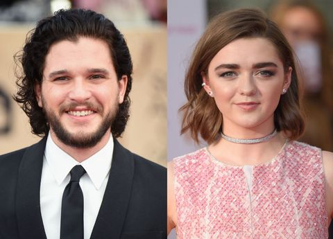 Maisie Williams Called in to Kit Harington's Radio Interview to Make Plans with Him