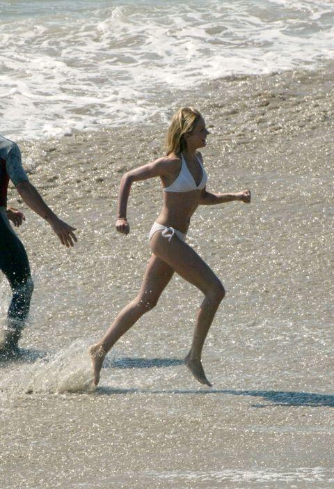 Fun, Human leg, Brassiere, Summer, Bikini, Undergarment, People in nature, Swimsuit bottom, People on beach, Vacation,