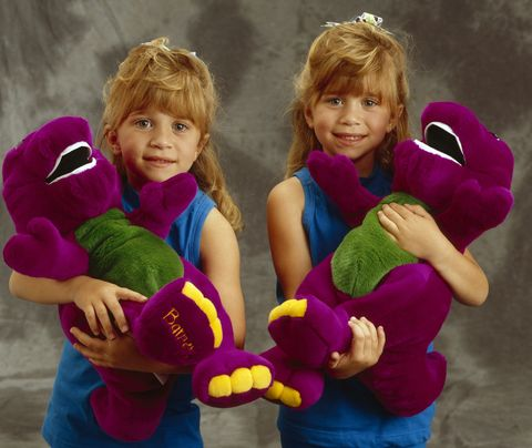 <p>When big bangs and Barney were the best combo. </p>