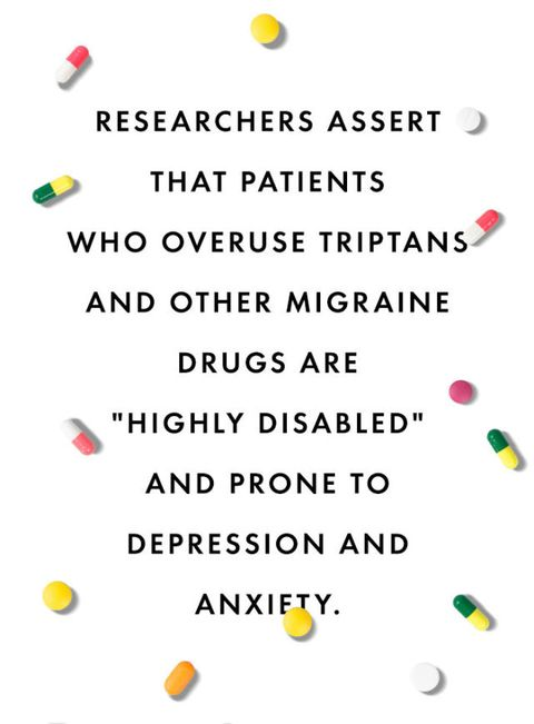 Quitting Migraine Drugs After Decades of Use