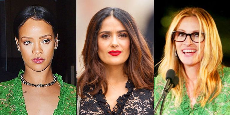 Rihanna, Julia Roberts, And Salma Hayek Wore The Same -8767