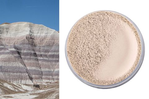 "<p><strong>Ingredient: </strong><span class=""redactor-invisible-space"">Kaolin Clay, a white mineral deposit</span></p><p><span class=""redactor-invisible-space""><strong>Product: </strong><a href=""https://nudebynature.com/product-category/make-up/foundations/"" target=""_blank"">Nude by Nature translucent powder</a>, $20<br></span></p><p><span class=""redactor-invisible-space""><strong>Claim: </strong><span class=""redactor-invisible-space""> Used worldwide in cosmetics, it's meant to detox and soften skin<br><strong>Result: </strong></span></span>Worked nicely on a hot, sticky day to matte up a shiny forehead.</p>"