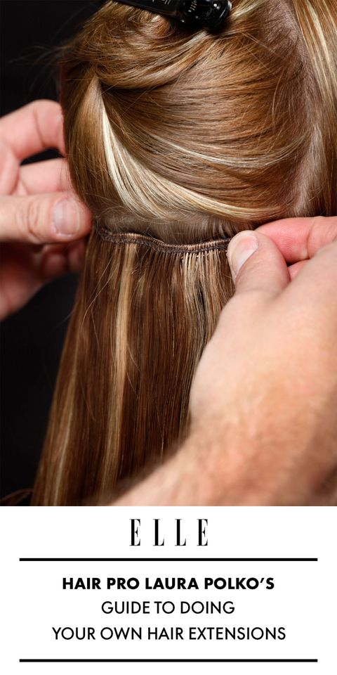 How To Clip In Hair Extensions How To Put In Clip In Hair Extensions