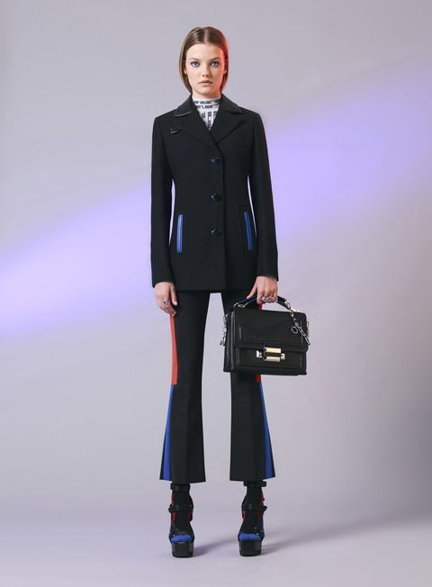 Collar, Sleeve, Shoulder, Standing, Joint, Outerwear, Bag, Coat, Formal wear, Style,