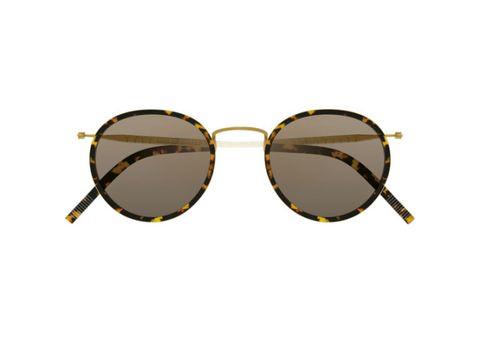 """<p>Sunglasses, SELIMA OPTIQUE, $385, visit <a target=""""_blank"""" rel=""""noreferrer"""" href=""""http://selimaoptique.com/"""">selimaoptique.com</a></p>"""