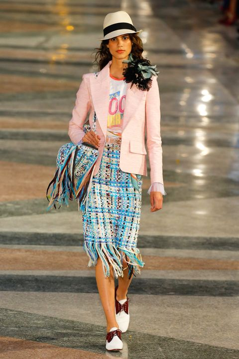 0800aa52ecfb All the Looks From the Chanel 2017 Cruise Collection