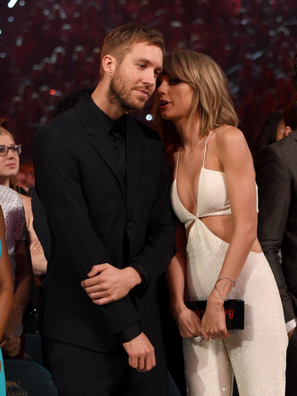 0e3b2a7746416 Calvin Harris Shades Taylor Swift - Calvin Harris Wears Yeezys Post ...