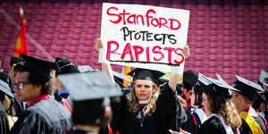 stanford protest, brock turner