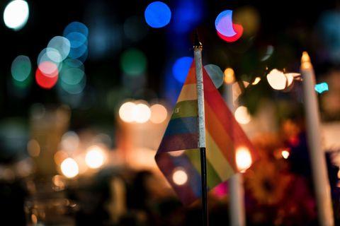 Orlando Massacrse Pride Flag