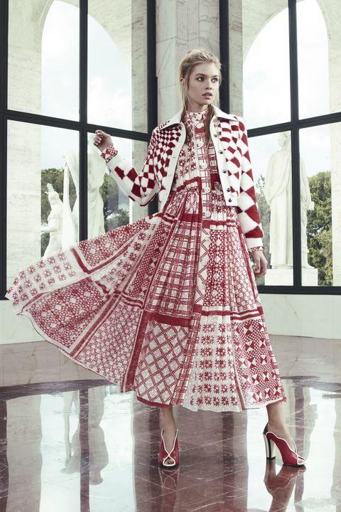 Shoe, Textile, Style, Pattern, Costume design, Fashion, Dress, High heels, Street fashion, One-piece garment,