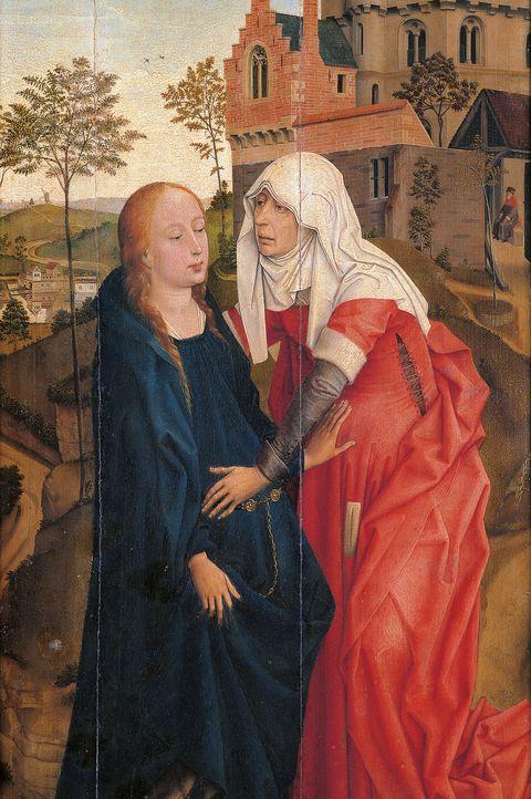 Painting, Art, Cope, Prophet, Friar, Visual arts,