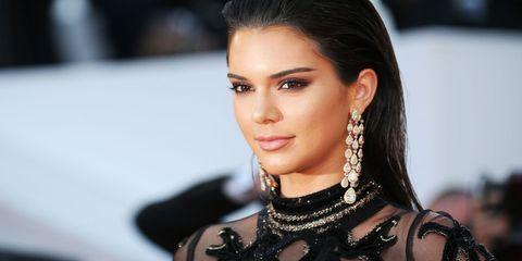 Ear, Nose, Lip, Hairstyle, Earrings, Eyelash, Eyebrow, Style, Fashion accessory, Black hair,
