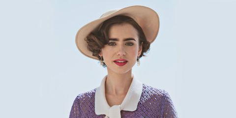 Lily Collins On Starring In The Last Tycoon The Last Tycoon On