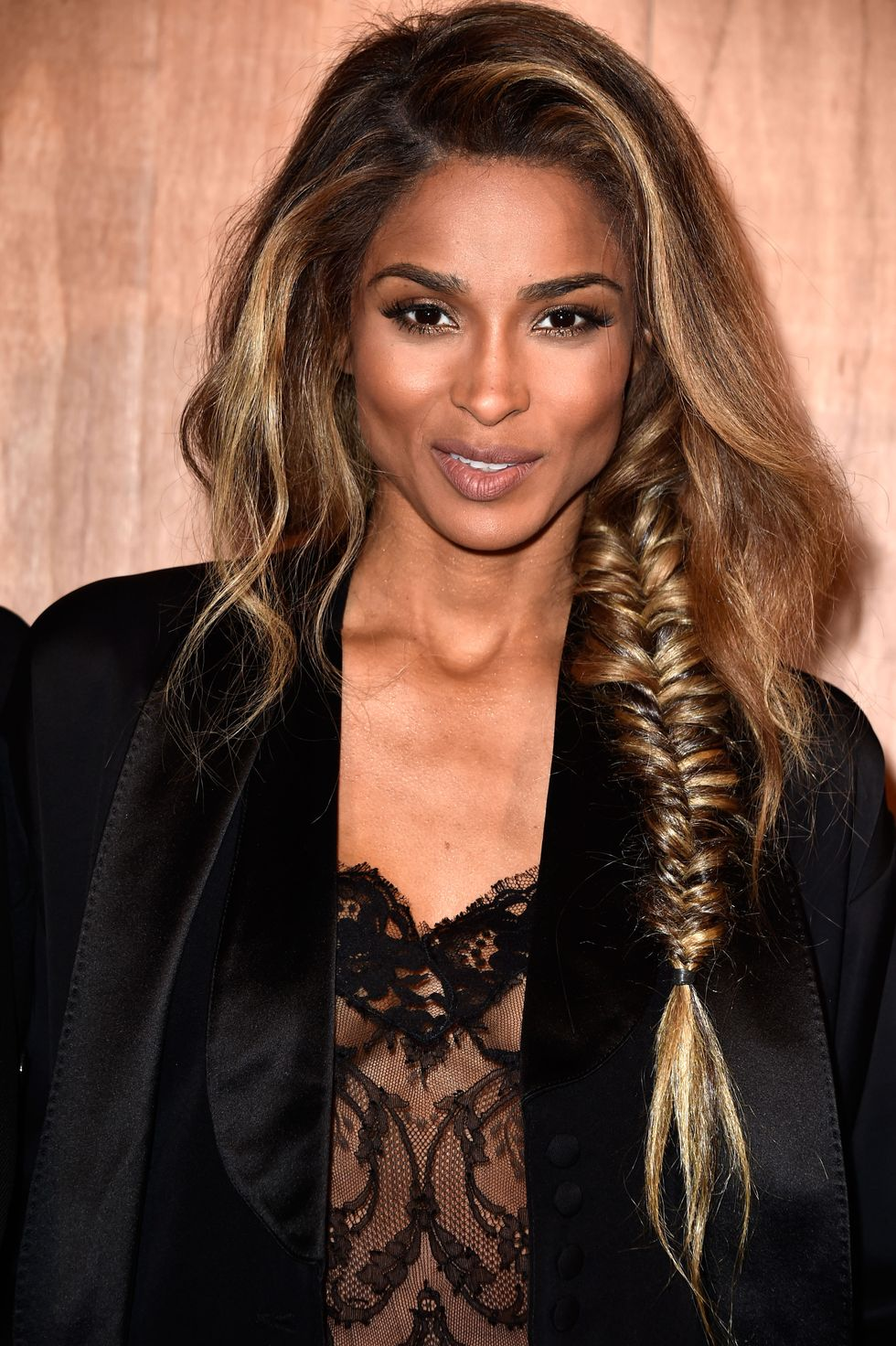 Ciara Ciara's messy fishtail is the relaxed summer hairstyle you need to sport.