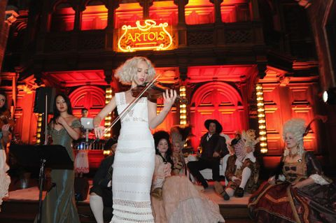 <p>At the Stella Artois's Host One to Remember event on June 23, 2016. </p>