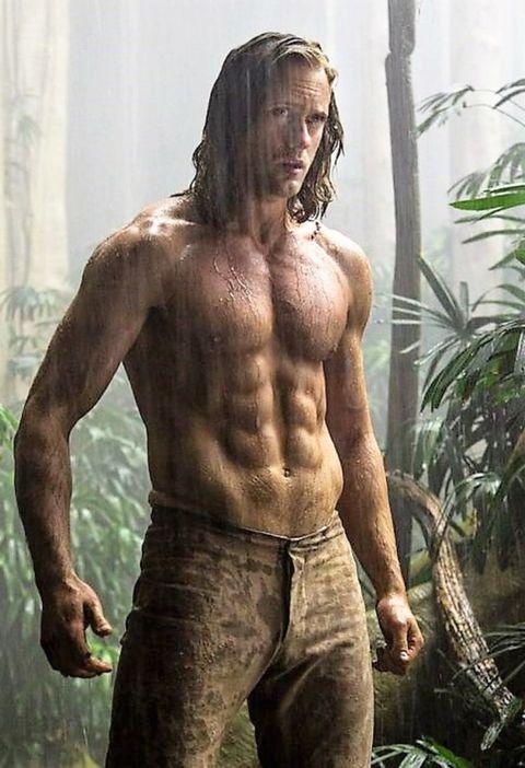 How Alexander Skarsgård Trained for 'Tarzan' - Alexander ...