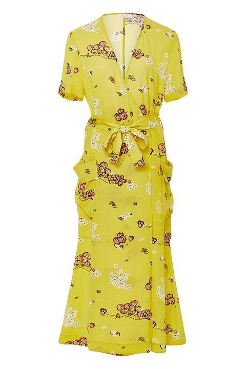 elle-retro-dress-ALC-yellow-stephanie-silk-printed-40s