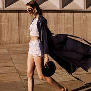 Brown, Human leg, Bag, Waist, Fashion, Street fashion, Luggage and bags, Thigh, Goggles, Tan,