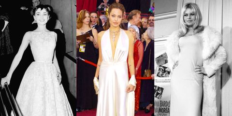 33 Stunning White-Dress Moments From Fashion History