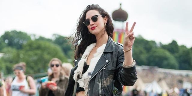 See All the Street Style Looks From the 2016 Glastonbury Music Festival