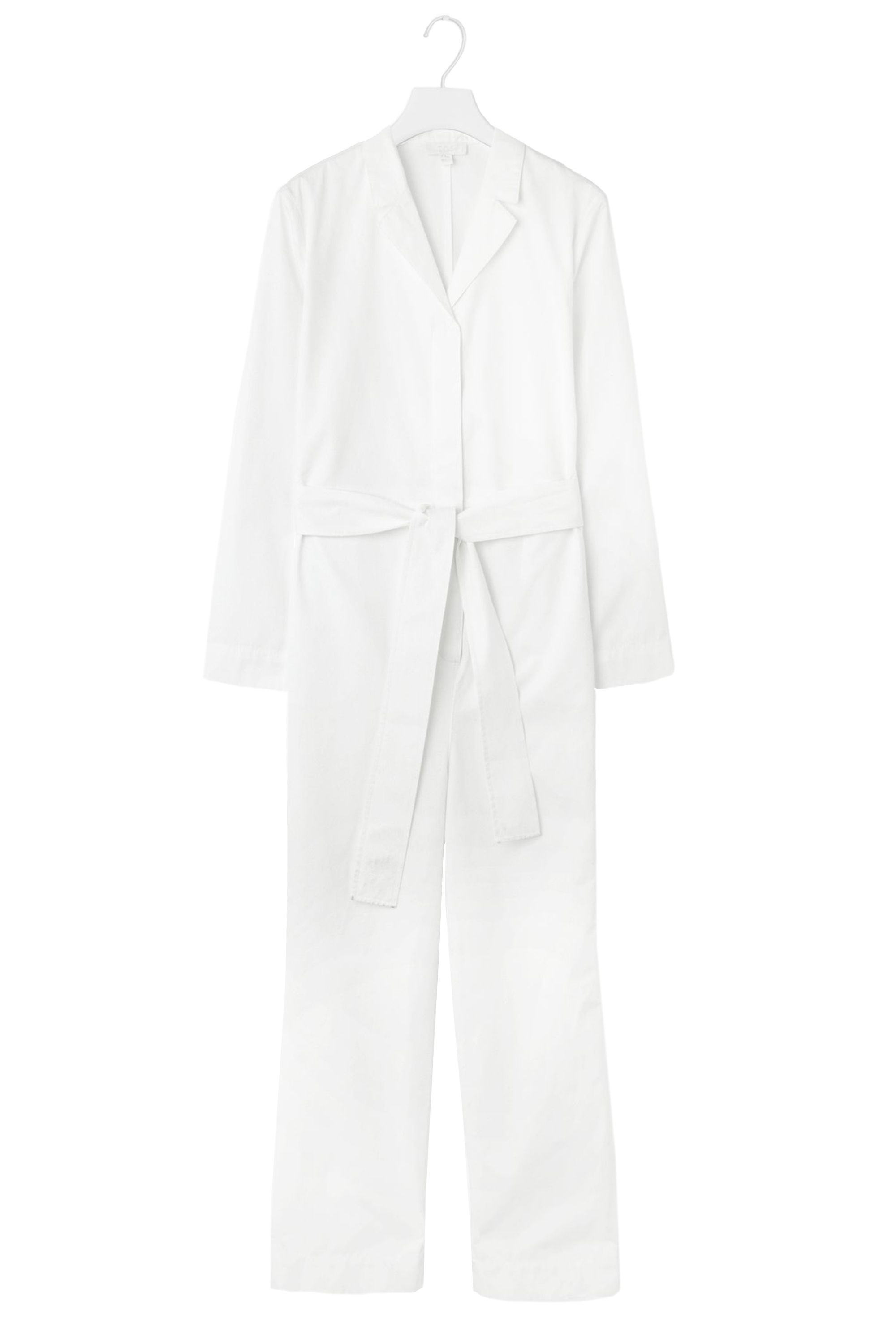 "<p>Cos Belted Boiler Suits, $175; <a href=""http://www.cosstores.com/us/Women/Jumpsuits/Belted_boiler_suit/18543104-20438776.1#c-15133331"" target=""_blank"">cosstores.com</a></p>"