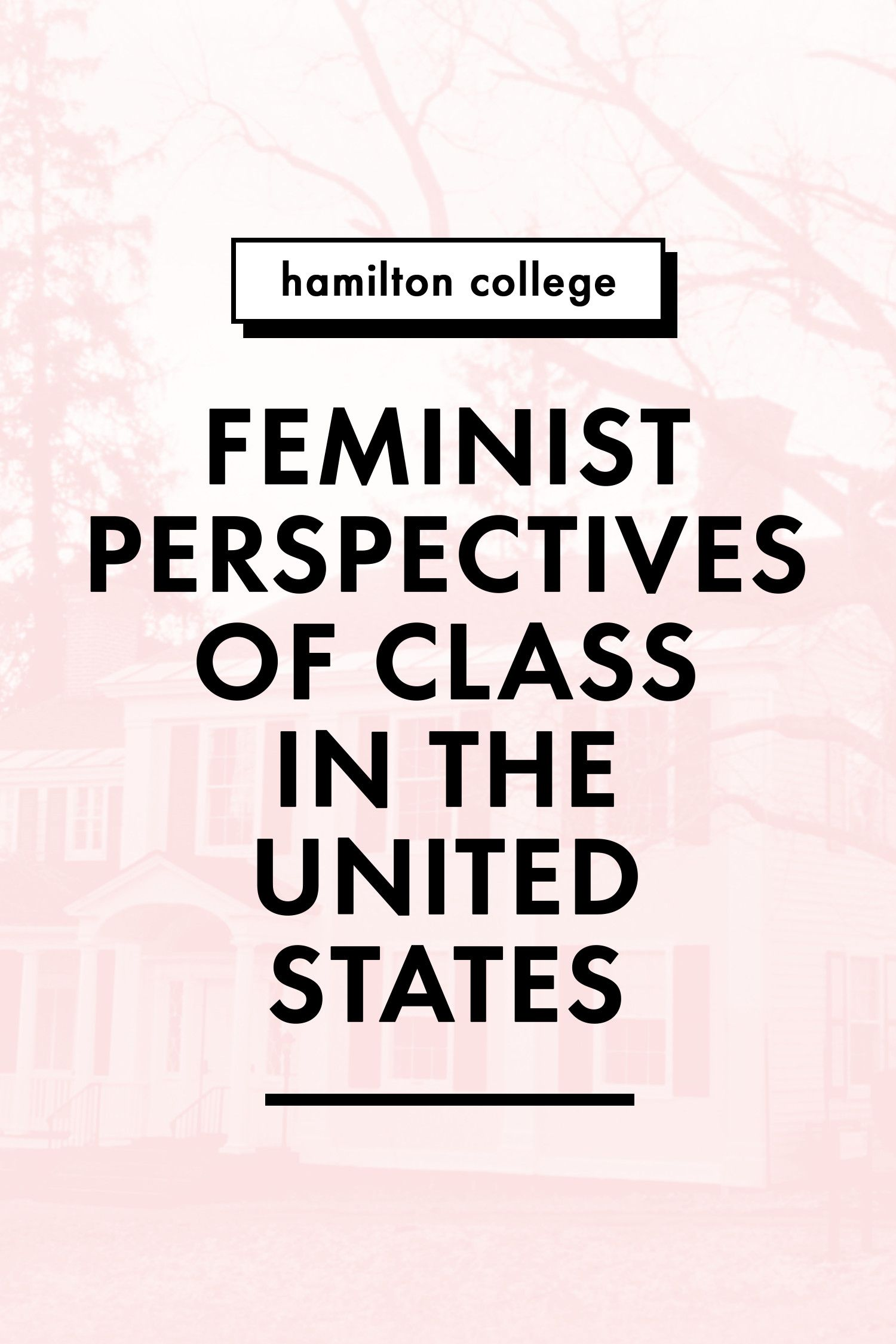 Hamilton College hook up White Chicks dating zwarte jongens