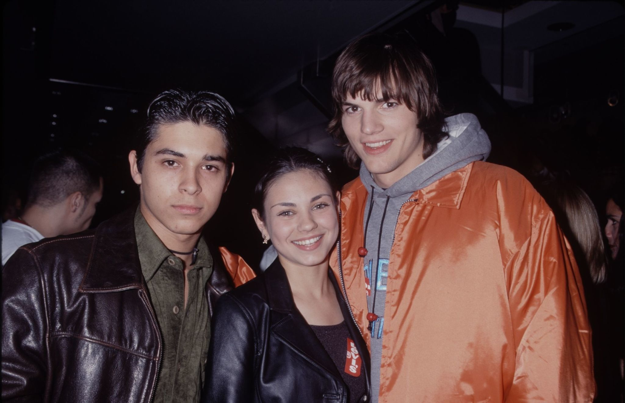 Ashton kutcher interview the talk giveaways
