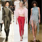 Leg, Style, Waist, Fashion model, Fashion, Winter, Fashion show, Street fashion, Runway, Fashion design,