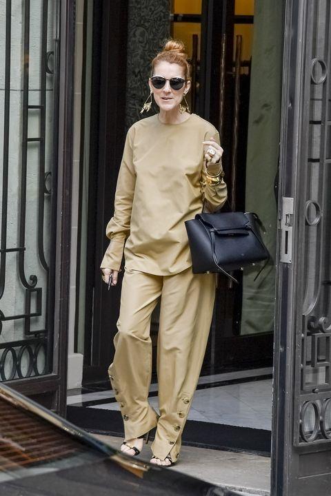 Celine Dion wears head-to-toe Céline