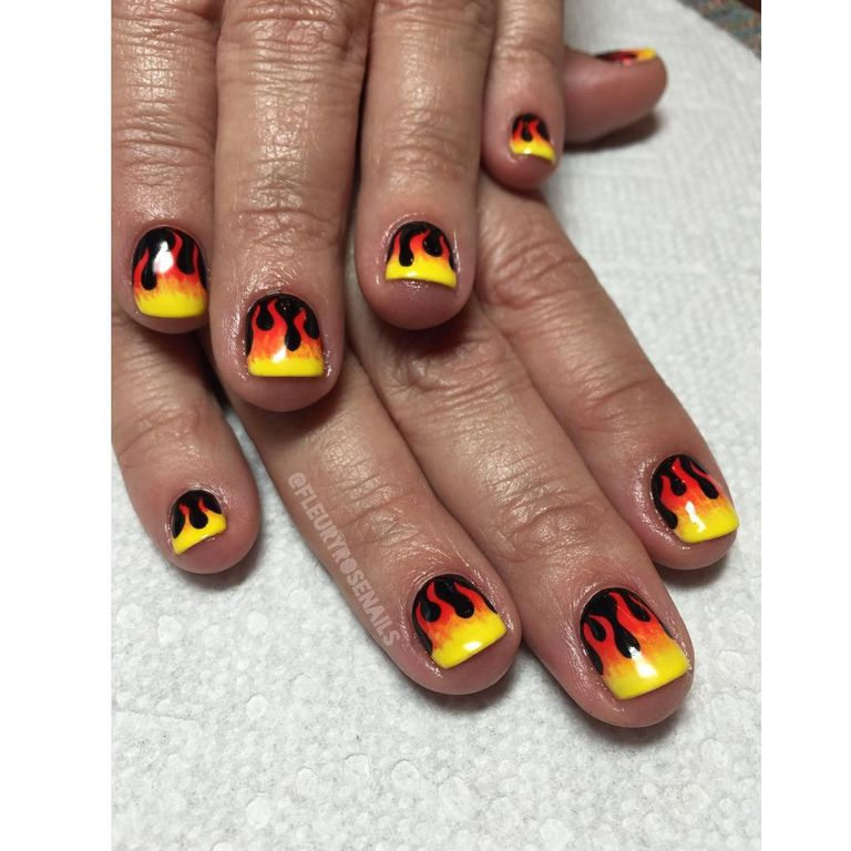15 Nail Art Designs That Look Better On Short Nails: Best Nail Art For Short Nails