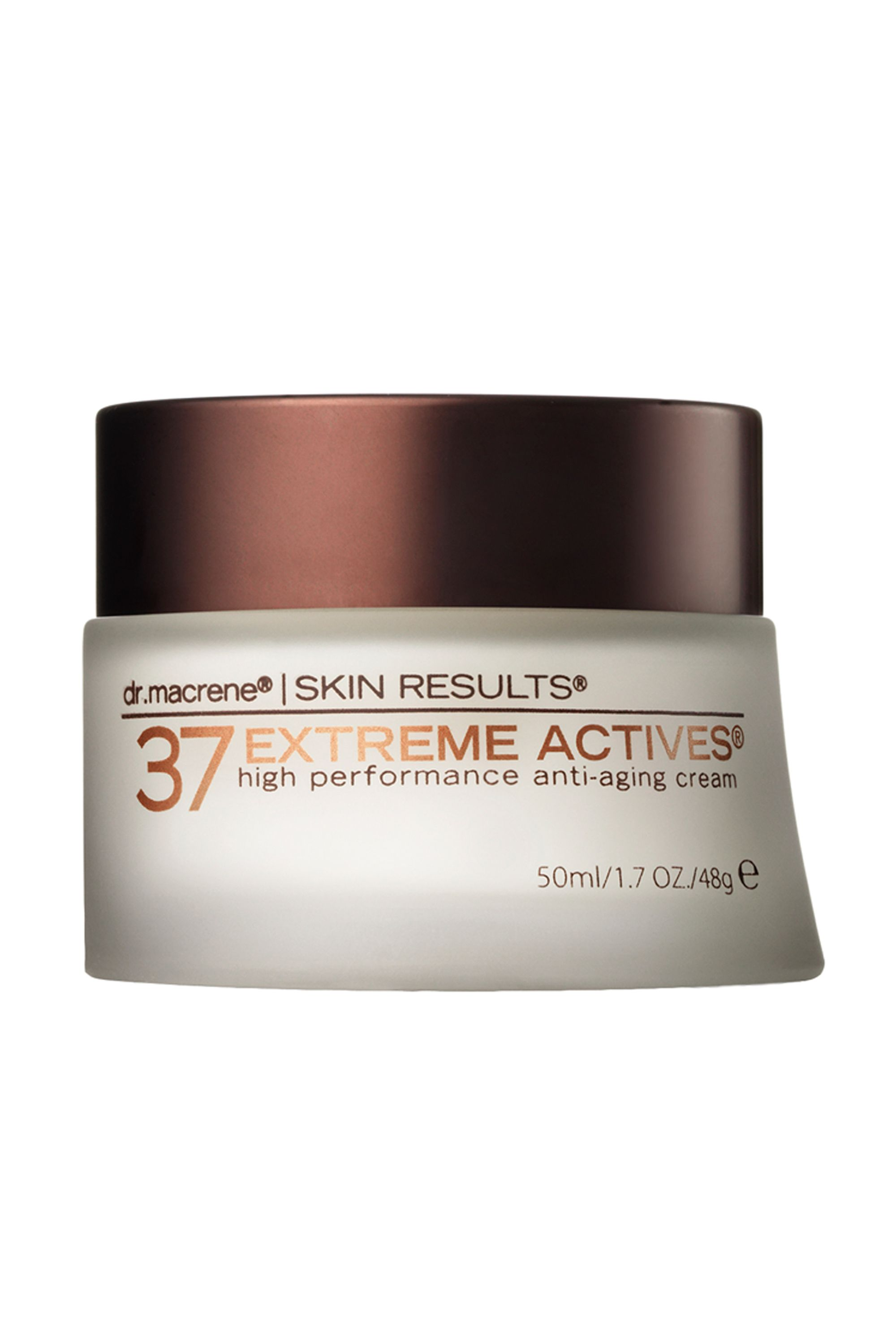 "<p>The first and only wrinkle cream I've ever used, this super potent anti-ager from New York City dermatologist Macrene Alexiades-Armenakas, MD, PhD, FAAD, PC (yes, she has that many degrees) goes on totally invisible and smells like nothing. But don't let the invisible delivery fool you–it really <em>works</em>. And if the price tag burns a little, consider the fact that Macrene's ingredients (including hyaluronic acid and peptides) remain active for up to two years.  —Leah Chernikoff, Editorial Director</p><p><i>37 Actives High Performance Anti-Aging Cream, $295; <a href=""http://m.skinstore.com/37-actives-high-performance-anti-aging-cream/11285958.html"" target=""_blank"">skinstore.com</a></i></p>"