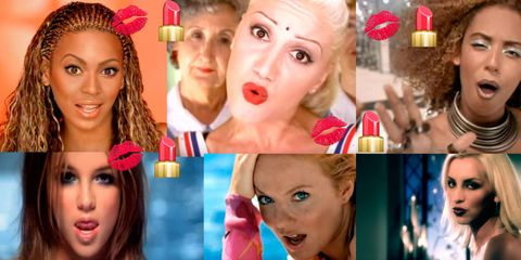The 10 Best Makeup Moments from '90s Music Videos