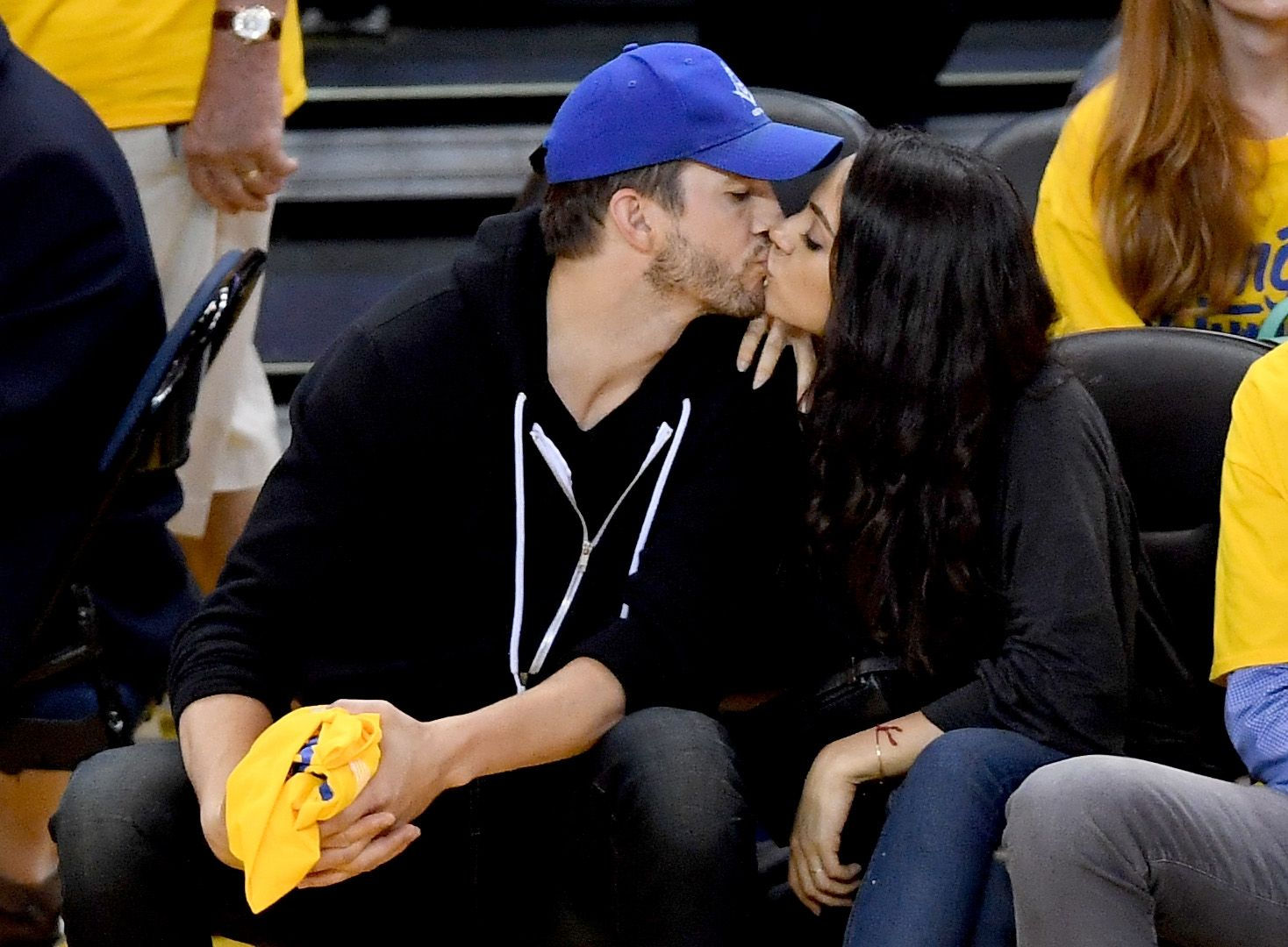 ashton kutcher and mila kunis dating timeline