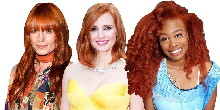 Red Hair Color Shades For Every Complexion - 22 Celebrity Redheads ...
