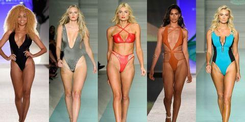 7b2ddeba0c Miami Swim Week 2016 - Revealing Front Bathing Suits on the Runway