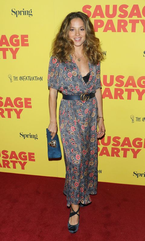 <p>At the special screening of 'Sausage Party' on August 4, 2016.</p>