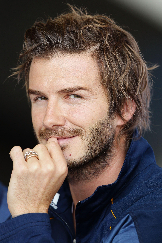 Evolution of David Beckham s Hotness s of David Beckham