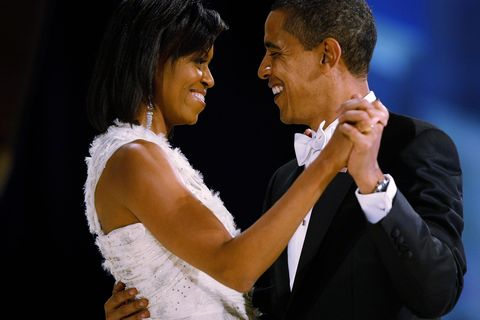 Barack and Michelle Obama's Cutest Moments in Photos