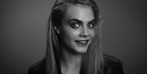 Watch Cara Delevingne Impersonate Iconic Movie Villians