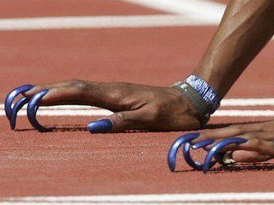 <p>On your mark. Get set. <em>Slay.</em></p>