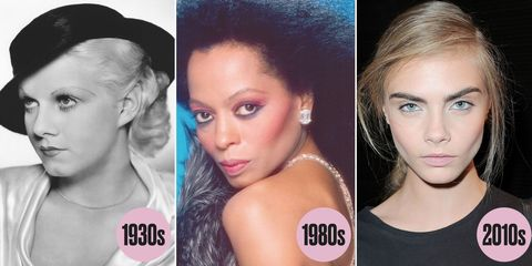 6d95e35ebc6 Eye Makeup Trends by Decade: The Shadow, Mascara, and More That Ruled the  Last 100 Years